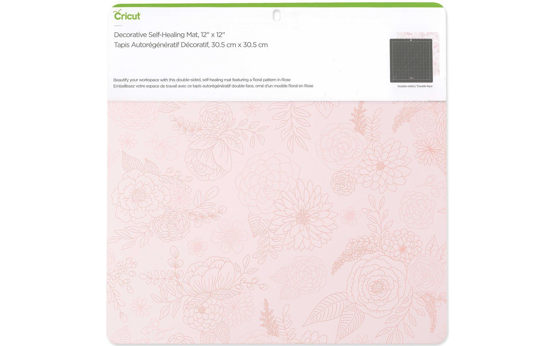 """Cricut Self Healing Mat 12x12"""" Rose"""